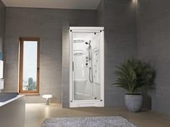 Box doccia a nicchia con idromassaggio con porta a battenteNEW HOLIDAY BI90 - NOVELLINI