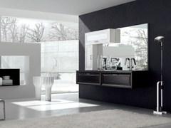 - Lacquered vanity unit NEW STYLE - COMPOSITION 2 - Arcom