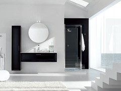 - Lacquered vanity unit NEW STYLE - COMPOSITION 6 - Arcom