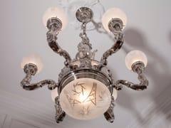 - Direct light nickel pendant lamp MOSCOW | Nickel pendant lamp - Patinas Lighting