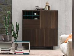 - Oak highboard with doors with drawers NIGHT | Oak highboard - Dall'Agnese