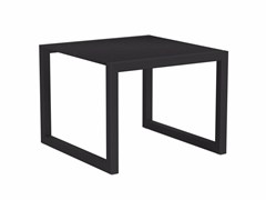 - Sled base square garden side table NINIX | Square coffee table - ROYAL BOTANIA