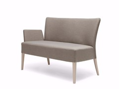 - Fabric small sofa NOBLESSE 218 - Origins 1971