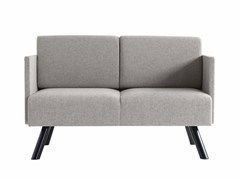 - 2 seater fabric sofa Nomad 822 - Metalmobil