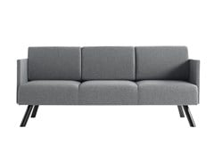 - 3 seater fabric sofa Nomad 824 - Metalmobil