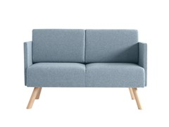 - 2 seater fabric sofa Nomad 826 - Metalmobil
