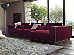 - Sectional fabric sofa NORMAN | Sectional sofa - Arketipo