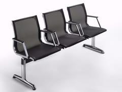 - Freestanding mesh beam seating NULITE | Mesh beam seating - Luxy