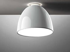 - Direct-indirect light ceiling lamp NUR GLOSS | Ceiling lamp - Artemide