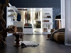 - Sectional walk-in wardrobe OASI - Silenia