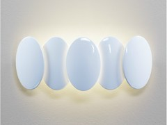 - LED indirect light wall light OBOLO 6487 - Milan Iluminación