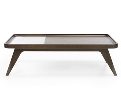 - Rectangular wooden coffee table OCTOBER S1 - profim