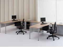 - Multiple office workstation G4 | Office workstation - BALMA