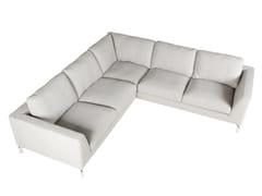- Corner sectional 4 seater fabric sofa OHIO | Corner sofa - SITS