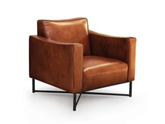 - Leather armchair with armrests ONDA | Leather armchair - Oliver B.