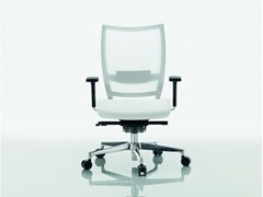 - Mesh task chair with 5-Spoke base OMBRA | Mesh task chair - Quadrifoglio Sistemi d'Arredo