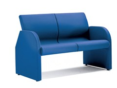 - Fabric bench seating with back ONE 402 - TALIN