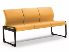 - Fabric bench seating with back ONE 403 S - TALIN