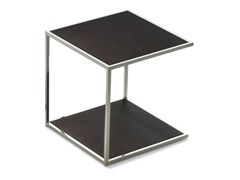 - Tavolino di servizio quadrato ONE | Tavolino in legno impiallacciato - Pacini & Cappellini