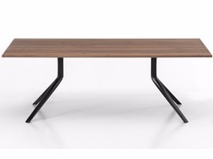 - Rectangular wooden table OOPS I DID IT AGAIN | Rectangular table - Kristalia
