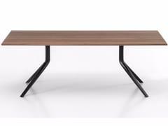 - Tavolo rettangolare in legno OOPS I DID IT AGAIN | Tavolo rettangolare - Kristalia