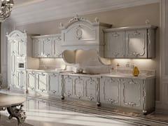Cucina lineare in legnoOPERA | Cucina lineare - FANFANI ANDREA