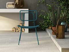 - Stackable metal garden chair OPLÀ S - Imperial Line