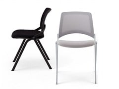 - Stackable reception chair OPLA' MESH | Chair - IBEBI