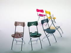 - Folding Vitrex chair OPLÀ | Vitrex chair - Ozzio Italia
