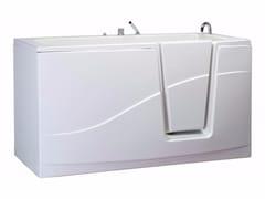 Vasca da bagno a tenuta stagna con portaOPLÀ - SANILINE BY THERMOMAT