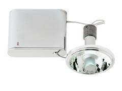- Adjustable aluminium spotlight ORBIS | Spotlight - Fabbian
