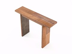 - Rectangular wooden console table ORGANIK OR01-TMH | Console table - KARPENTER