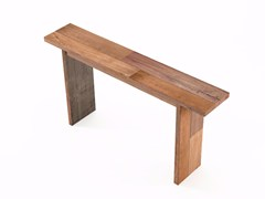 - Rectangular wooden console table ORGANIK OR02-TMH | Console table - KARPENTER