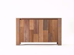 - Wooden sideboard with doors ORGANIK OR19-TMH | Sideboard - KARPENTER