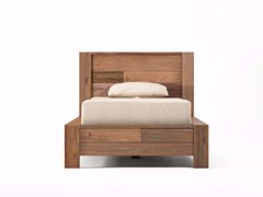 - Wooden single bed ORGANIK | Single bed - KARPENTER