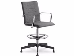 - Height-adjustable task chair with 5-Spoke base with armrests OSLO 229 - LD Seating
