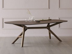 - Contemporary style walnut table OTTO | Walnut table - Miniforms