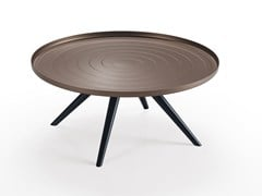 - Low round aluminium coffee table OUTLINE | Low coffee table - Oliver B.