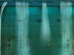 - LED overhead shower for chromotherapy Dream 4 Sprays - RGB CROMOTHERAPY - Bossini