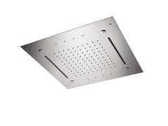 Soffione doccia in acciaio con illuminazioneSOFFIONI CON CROMOTERAPIA | Soffione doccia con illuminazione - NEWFORM