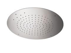 Soffione doccia a pioggia da incasso in acciaioSOFFIONI CON CROMOTERAPIA | Soffione doccia a pioggia - NEWFORM