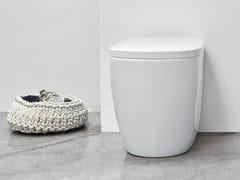 Wc in ceramica a pavimentoOVVIO | Wc a pavimento - NIC DESIGN