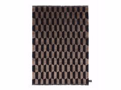 - Rectangular rug with geometric shapes P.A.N.E. SOIE - cc-tapis ®