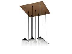 - Direct light handmade blown glass pendant lamp PACK 9 - Niche Modern