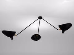 - Lampada da soffitto orientabile in metallo PAR3B | Lampada da soffitto - Editions Serge Mouille
