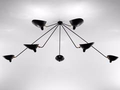 - Lampada da soffitto orientabile in metallo PAR7B | Lampada da soffitto - Editions Serge Mouille