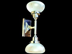 - Lampada da parete in nichel PARIS II | Lampada da parete - Patinas Lighting