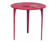 - Round steel garden table PATTERN | Round table - EMU Group S.p.A.
