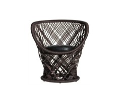 - Woven wicker armchair PAVO - Driade