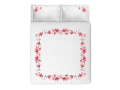 Coordinato letto in cotone con motivi florealiPEACH BLOSSOM KING SET | Coordinato letto in cotone - SANS TABÙ